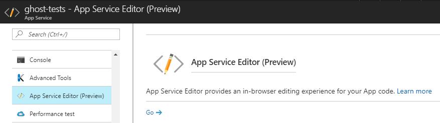app-service-editor