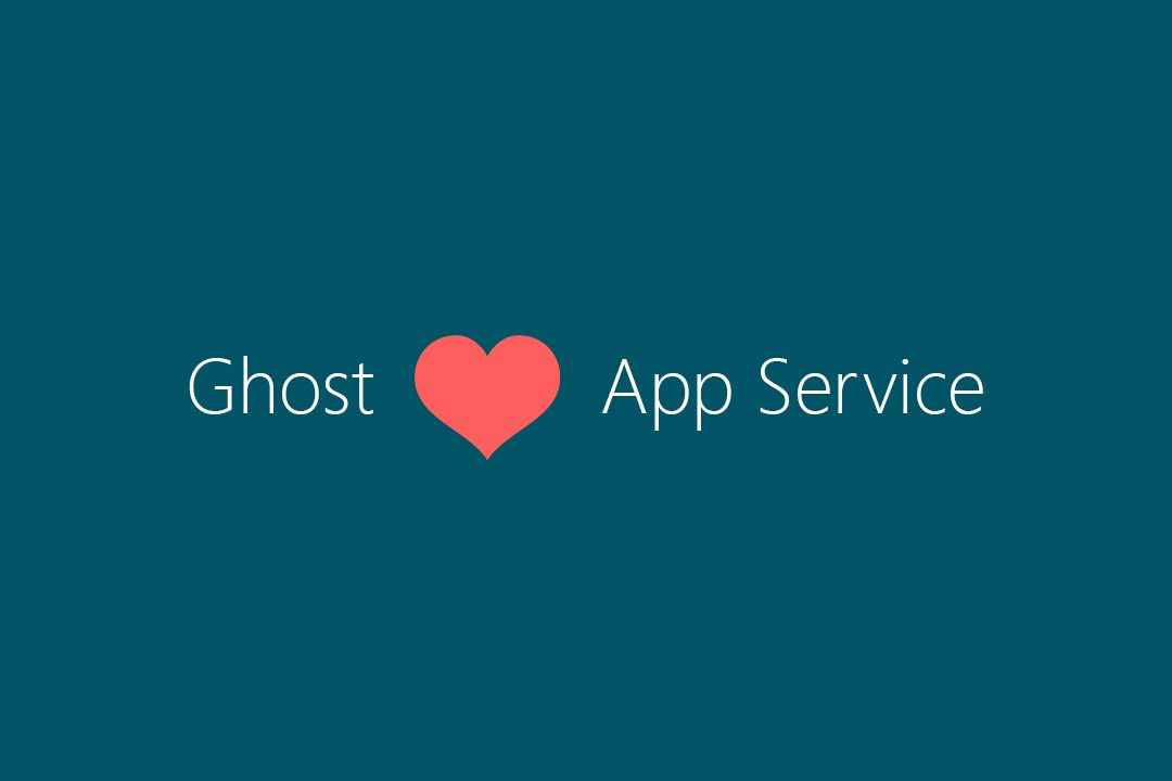 Ghost 1.x on Azure App Service